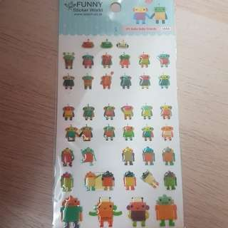 (Half price) Robot sticker