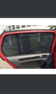 Volkswagen mk7 Golf magnetic sunshade 4pcs high quality