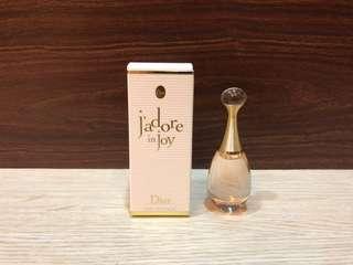 衝評價最便宜正品迪奧新品jadore in joy 愉悅真我宣言女性淡香水5ml附盒