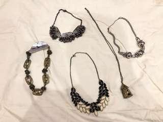 Necklace Set - Kalung Pesta Set (2)