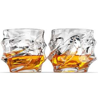 2pcs Whiskey glasses Scotch Irish Bourbon