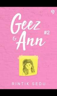 Geez & Ann #2 By Rintik Sedu