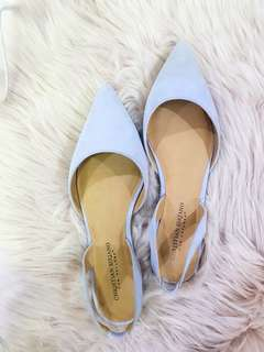 Lilac pointed flats