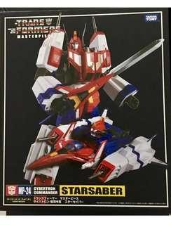 MP24 Transformers Masterpiece Star Saber