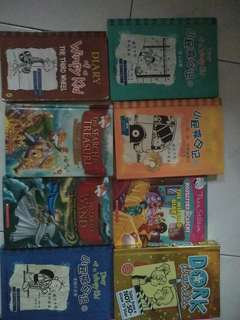Gernimo and Thea Stilton,Dork Diaries,The Diary of wimpy kid