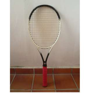 Wilson Hammer 6.2 Stretch Oversize 110 Tennis Racket/Racquet 4 1/4