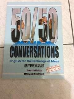 50/50 English for exchange ideas
