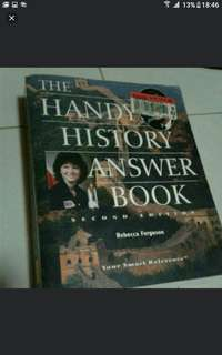 The Handy History Answer Book  A Walk through the Ages  Our country and the world is changing fast, and a knowledge of history helps us understand the hows, whats, and whys of modern civilization.  Pick up hougang buangkok mrt