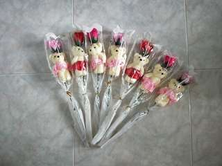 [Mother's Day] Soap flower stalk with bear
