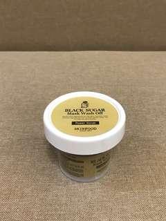 (NEW) Skinfood | Black Sugar Mask Wash Off