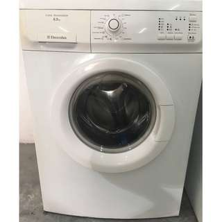 6.5kg Front Load Electrolux Washing Machine Mesin Basuh Recond