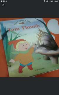 Children's hardcover story book  Tom thumb 60 pages  Pick up hougang buangkok  Or add $1 for postage