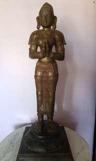 Vintage Goddess Statue