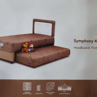Dp 0% Springbed Musterring Symphony 2 in 1 Kids