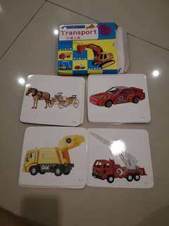 Flash cards Transportation