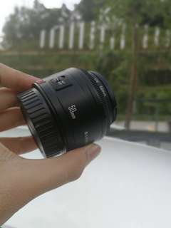 Canon 50mm F1.8 for rent