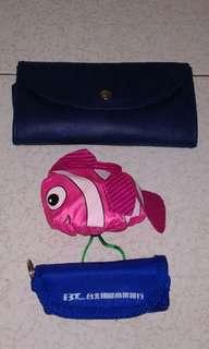 可收合提袋 環保袋 收納袋3個