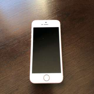 IPhone SE Rose Gold || UNLOCKED || Excellent condition
