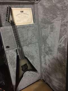 ESP katana7 電吉他 閃靈小黑簽名琴