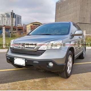 2007年 CR-V 灰色 2.0 米內裝     大桃園優質二手中古車買賣