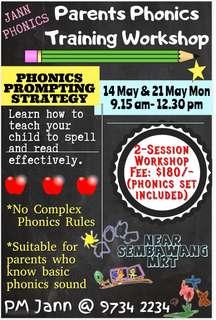2-Session Parents Phonics Workshop