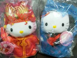 100% 全新 Hello Kitty 結婚公仔
