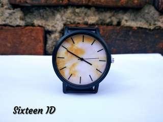 Jam tangan analog pria dan wanita