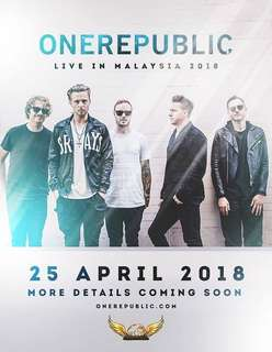 One republic ticket (price for two)