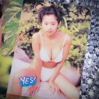 優香 Yūka 日本寫真偶像 絕版 Yes Card ST0907