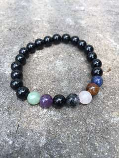 Bracelet semi precious stone
