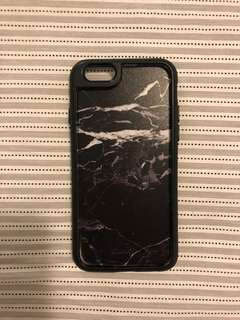 USED- Castify black marble iPhone 6/7/6S/7S case