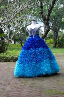 Debut ball gown