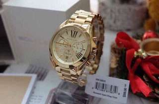 ‼️Month End Sale!‼️🔥❤️ best seller MICHAEL KORS BRADSHAW GOLD❤️