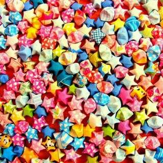 Origami Bintang / Lucky Stars