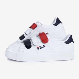 authentic fila court deluxe vc velcro shoe