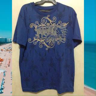 TRIBAL Blue Shirt