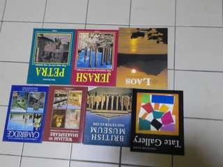 Souvenir Guide books