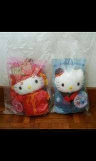 McDonald Limited Edition Hello Kitty's & Dear Daniel's Chinese Wedding Collection Soft Toy