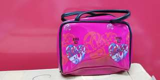 Anna Sui 拉鏈 化妝袋/小手包