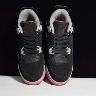 Air Jordan 4 Retro AJ4 黑紅