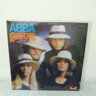 75至76年 ABBA lp黑膠唱片