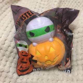 Mummy Halloween Pumpkin