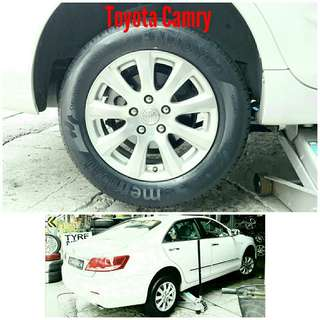 Tyre 215/60 R16 Membat on Toyota Camry 🐕 Super Offer 🙋♂️