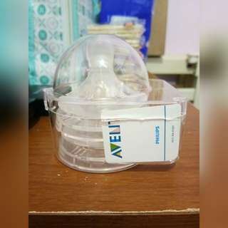 Avent Natural Nipple (First flow)