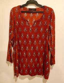 Printed Blouse from India