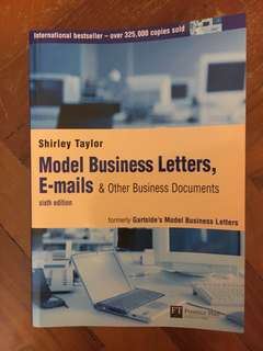 Model business letters and emails