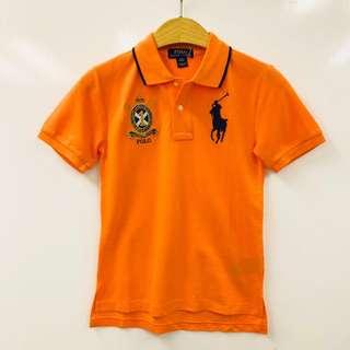Ralph Lauren 全棉橙色短䄂Polo衫 tee shirt size S