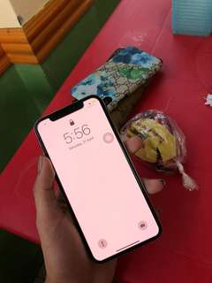 Iphone X 64gb factory unlocked rush