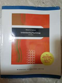 Understanding Psychology textbook