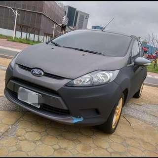 2010年 FIESTA 5D 藍色1.4    大桃園優質二手中古車買賣